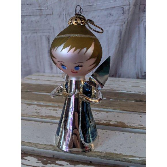 Italian glass cherub angel singing de carlini ? or
